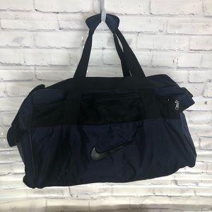 Blue Nike Duffel bag. large bag